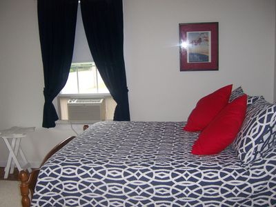 Scarborough Beach house rental - Bedroom with double bed