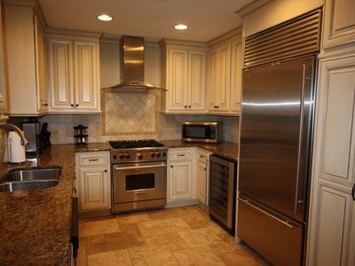 The Kitchen - Featuring Sub Zero Refrigerator and Under-counter Ice Maker, Wolf