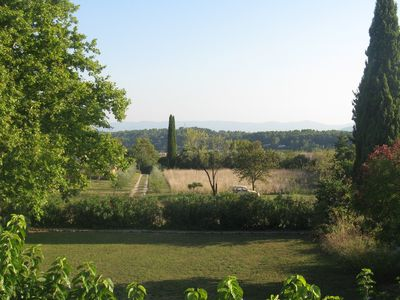 Lorgues house rental - view from neighbour's bedroom