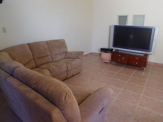 Cabo Rojo apartment photo - Living room area with big screen TV