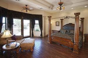 Cave Creek estate rental - Master Bedroom Suite