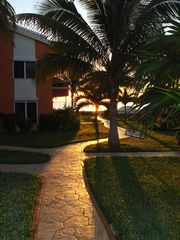Puerto Morelos condo photo - A Sunrise Walk.