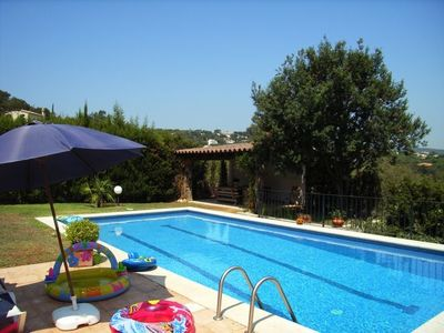 Beautiful villa with private pool in Playa d'Aro at 5 min. from the beach
