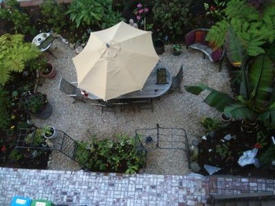 Private garden with BBQ, Umbrella Table - absolutely stunning.