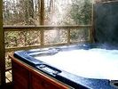 Seclude Cabin with Jacuzzi built in the air! - Kunkletown cabin vacation rental photo