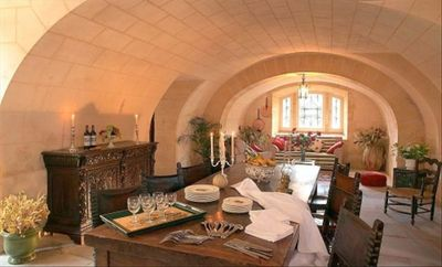 Chateau de Cardou dining room