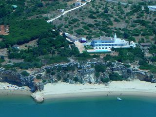 Ferragudo house photo - Casa da Infanta and estate with beach below