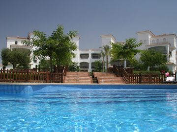 La Torre Golf Resort apartment rental - Overlooking a gorgeous pool
