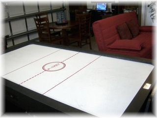 Hollywood house photo - Gameroom Reversible Pool Table/Air Hockey Table
