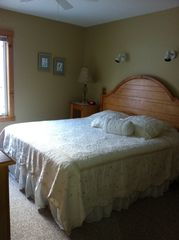 Jay Peak condo photo - Master bedroom with full bath