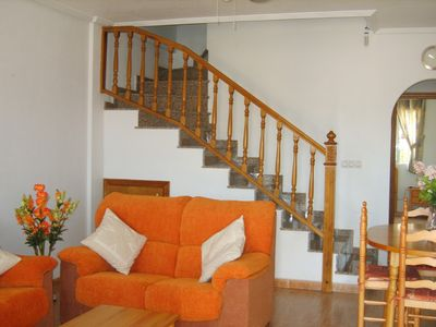 3 Bedroom House close to beach with communal pool & Golf courses
