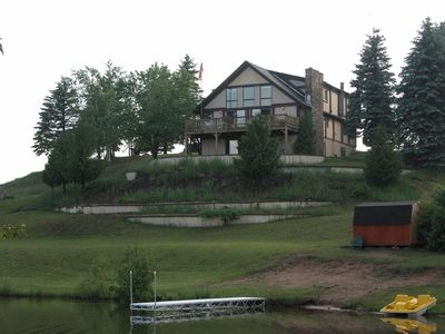 Indian River lodge rental - View from the island
