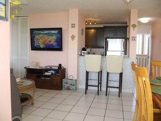 Luquillo condo photo - Breakfast Bar with new mosaic tile