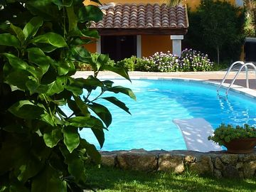 San Teodoro apartment rental - The Pool