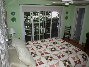 Master Bedroom and deck