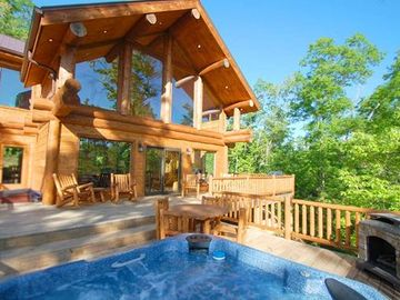 Bryson City cabin rental