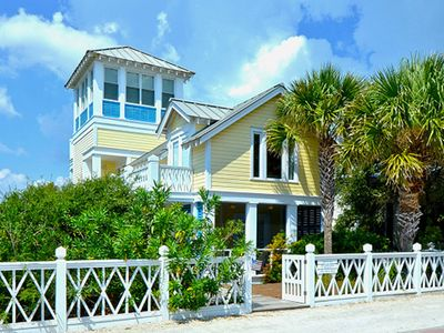 Front Exterior | Four The Girls | Cottage Rental Agency | Seaside, FL