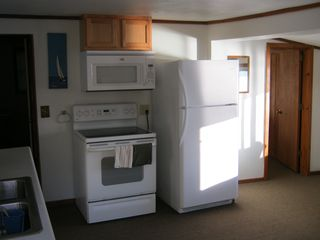 White Cloud cottage photo - NEW APPLIANCES @ EAGLE'S NEST