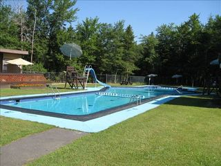 Pocono Summit house photo - Pool, 5 min walking distance