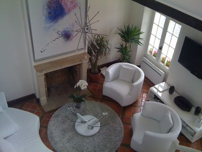 Spacious and warm duplex in Versailles, Castel view, 4 people