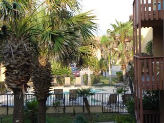 South Padre Island condo photo - Pool area view