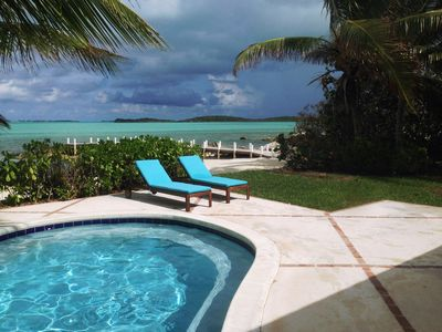 image for Luxury 'Beach Villa' with private pool, beach and dock