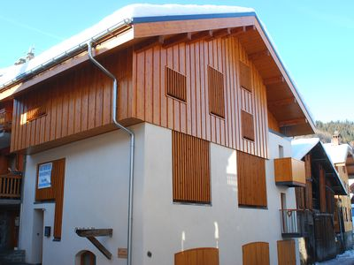 Self catered luxury Chalet, village centre location