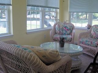 Rehoboth Beach villa photo - Relax on our Sun Porch