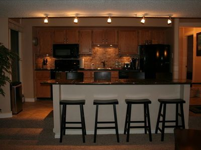 All new, awesome kitchen with granite counter tops