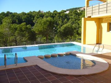 Altea apartment rental - Pool Area