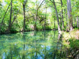 Wimberley property rental photo - Cypress Creek is located right outside your back door to enjoy.