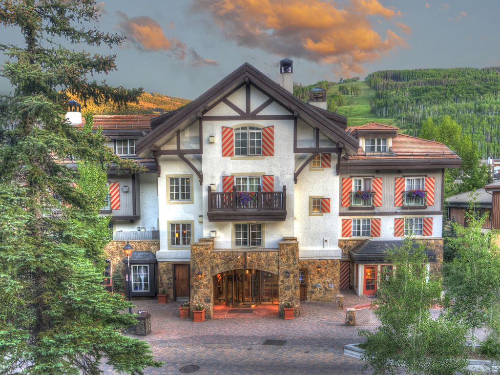 Austria haus condominium rentals vail village vrbo for Cabins for rent near vail colorado