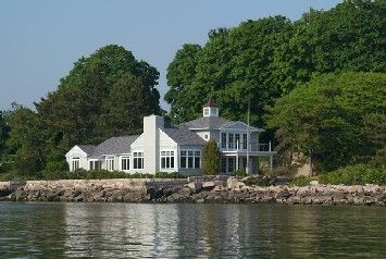 House overlooking Long Island Sound