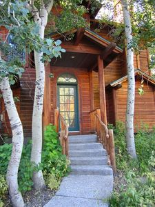 Alpine Meadows chalet rental - Front Entrance