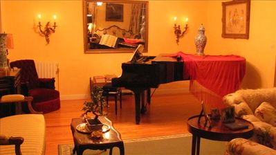 Grand Piano in Salon