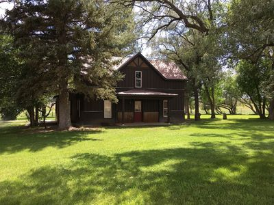 Historic home on working cattle ranch