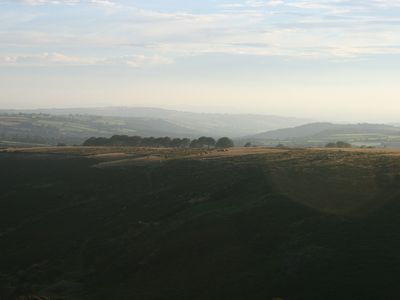 The Lyd Valley from Widgery Cross