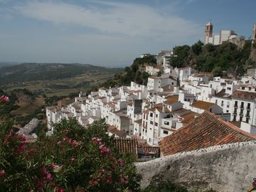 Casares - White Town in the Hills behind the Coast