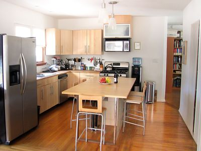 Fully equipped kitchen, espresso machine,  dishwasher, oven etc.
