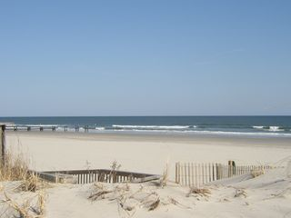 Stone Harbor townhome photo - Another view of our beach.
