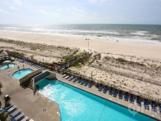 Orange Beach condo photo - Pool view from balcony