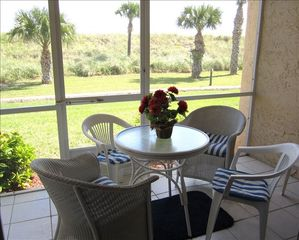 Hutchinson Island condo photo - Dune view from all rooms with the beach and Atlantic Ocean just beyond !