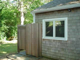 West Tisbury house photo - Outdoor Shower