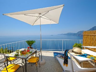 Casa Le Agavi, terrace with stunning view