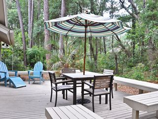 Sea Pines house photo - Quiet, Private Outdoor Space