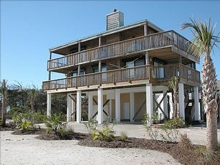 Cape San Blas house photo - Ample parking underneath for cars and a boat
