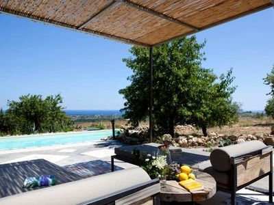 Noto house rental - Holiday villa with panoramic view