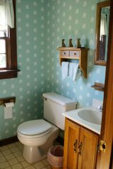 Cranberry Isles estate photo - shell room bath