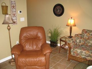 Caribbean Dunes condo photo - Relax in the recliner for a nap or HDTV