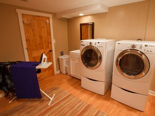 Weaverville lodge photo - Fully Equipped Laundry Room